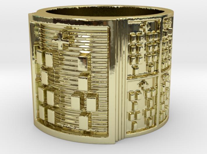 IRETEKA Ring Size 11-13 3d printed