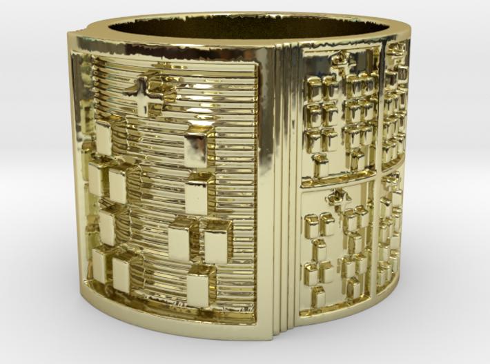 IRETEUNFA Ring Size 11-13 3d printed