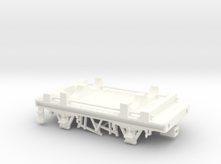 GWR Cordon Part 7 Chassis 3d printed