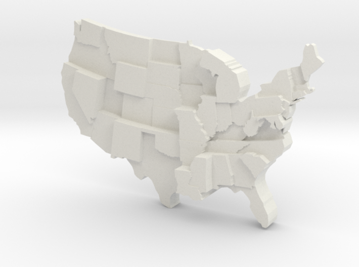 USA by Homicide 3d printed