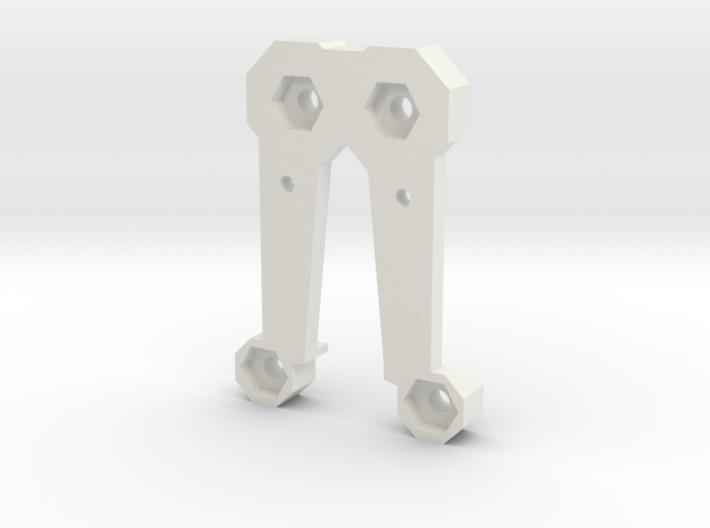 Saber Belt Clip Part 2 of 2 - Everyday Belt Carry 3d printed