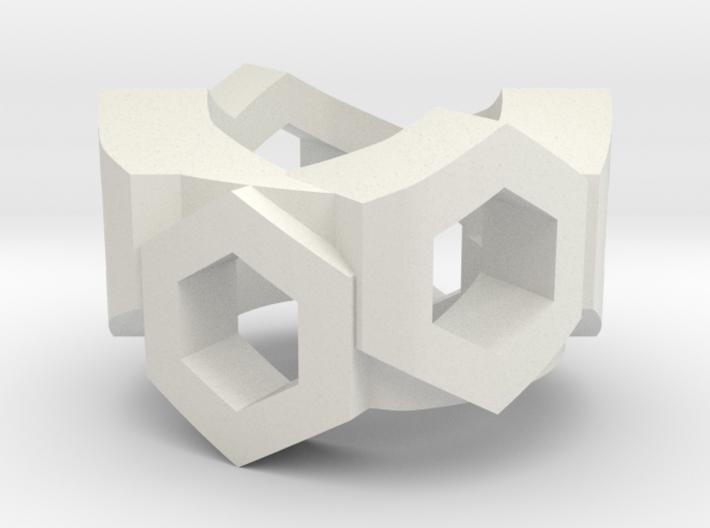 Hex Utility Belt for ModiBot 3d printed