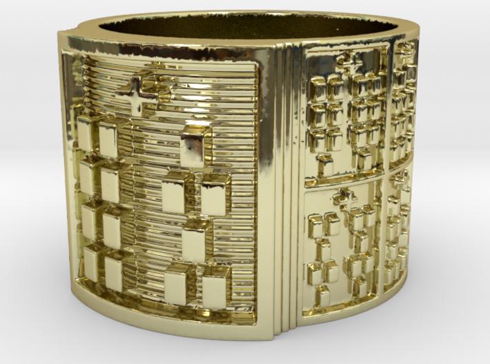OSHEYEKUN Ring Size 14 3d printed