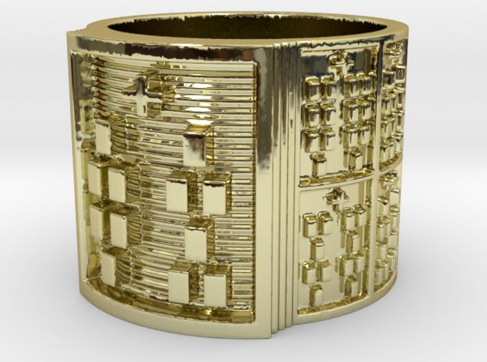 OSHEDI Ring Size 11-13 3d printed