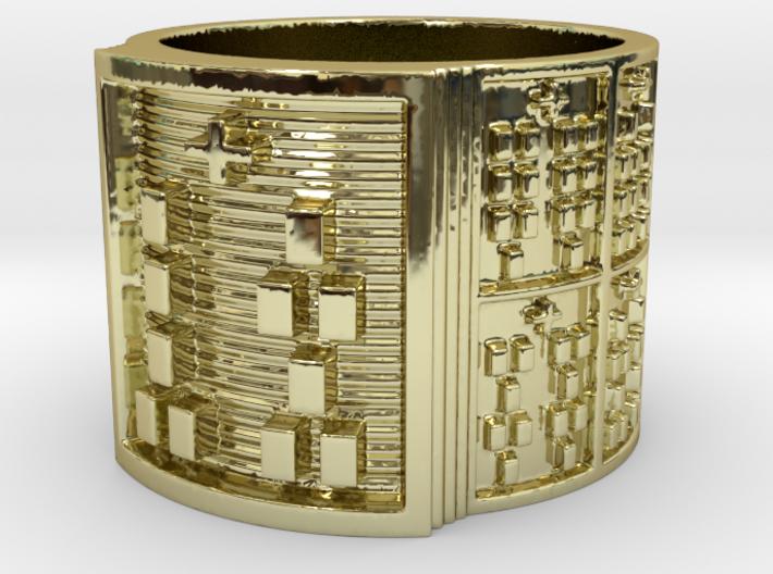 OSHEOMOLU Ring Size 13.5 3d printed