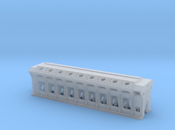 N Ships Diesel Engine Load 3d printed