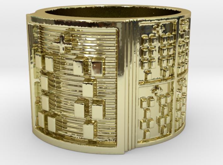 OFUNWORI Ring Size 14 3d printed