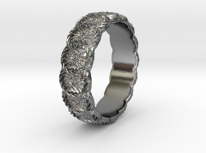 Daisy - Ring - US 6.75 3d printed