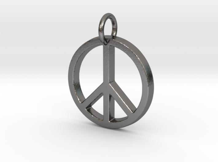 Peace Symbol 3d printed