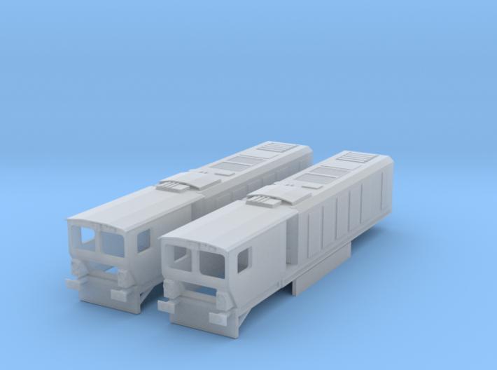 N gauge Harsco Rail Grinder (Twin) 3d printed