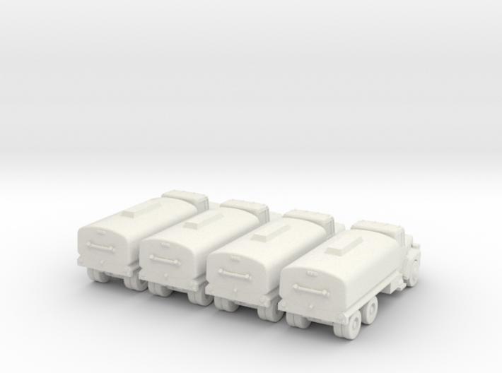 Mack Tanker - Set of 4 - 1:200scale 3d printed