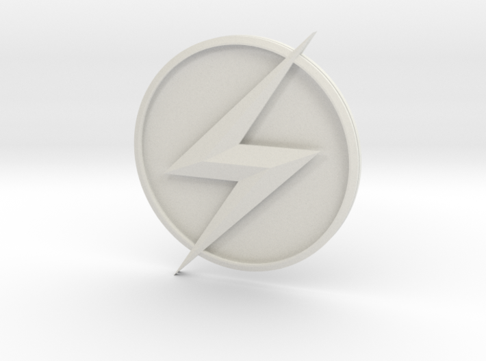 Kid Flash - Chest Symbol 3d printed