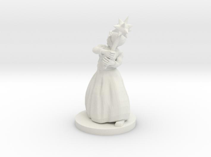 Human Female Fighter - Urgala Meltimer 3d printed