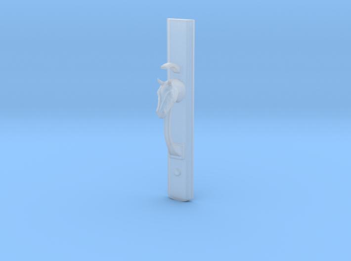 Horse Head Handle 22cm 3d printed