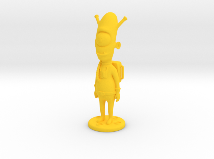 Alien toy figure 3d printed