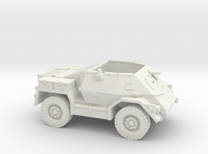Pattern Wheeled Carrier (New Zealand) 1/100 3d printed