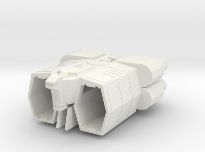 COLUMBUS Gundam 1:2400 3d printed