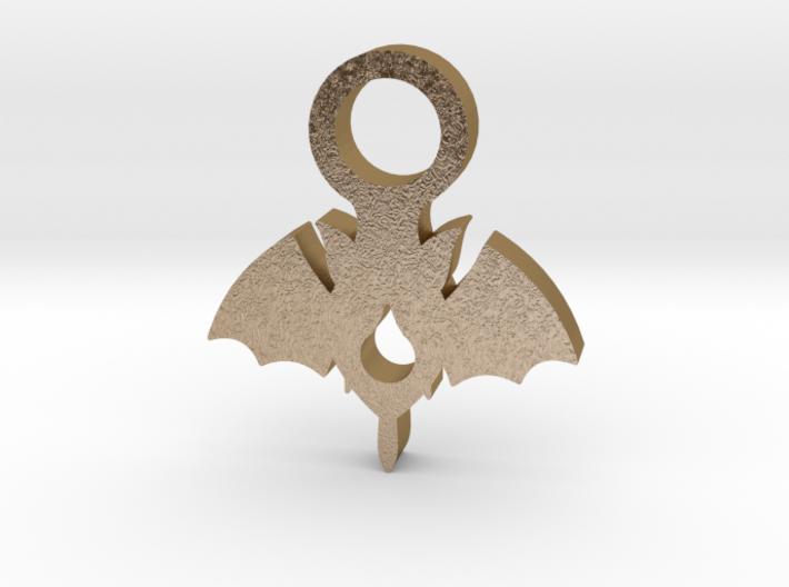 Vampire Pendant 3d printed