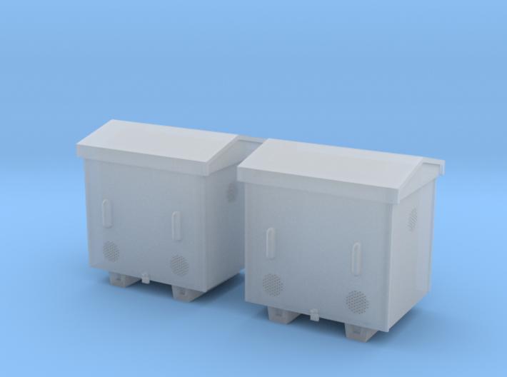 TJ-H04652x2 - Caisses à piles acier galvanisé peti 3d printed