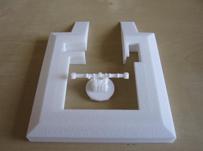 1/144 Bunker L403 Radarmessgeraet 3d printed