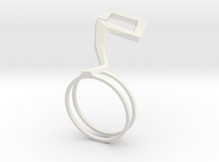 Hana ring 3d printed
