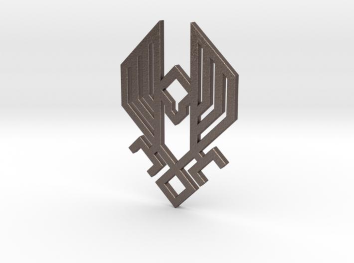 HZD Hawk Pendant 3d printed