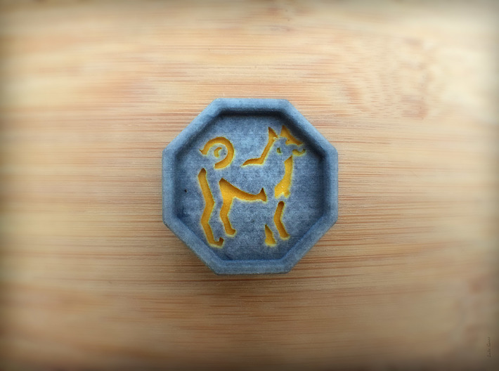 Dog Talisman 3d printed