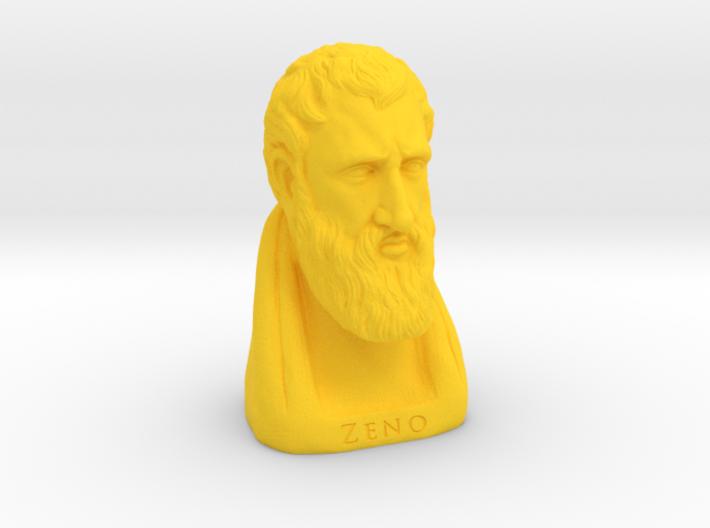 Zeno of Citium 4 inches 3d printed