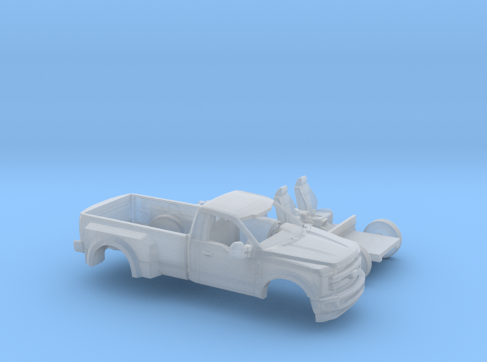 1/160 2017 Ford F-Series Reg.Cab Dually Bed Kit 3d printed