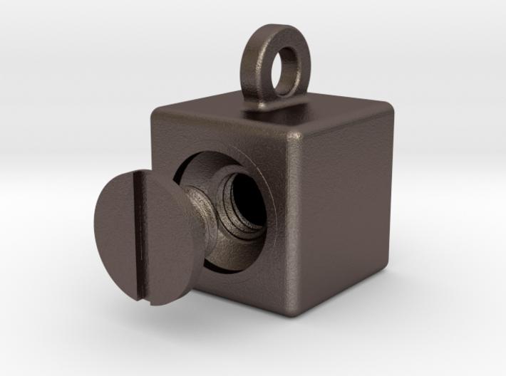 ZCUBE+CAP 2cm 3d printed