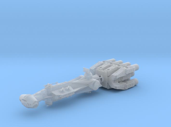 Blockade Runner 3in Long 3d printed
