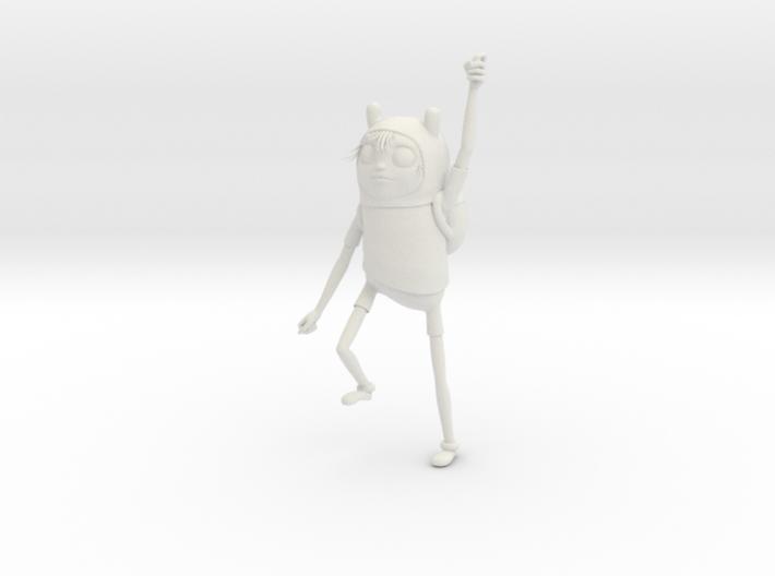 Adventure Time Sculpture Finn 3d printed