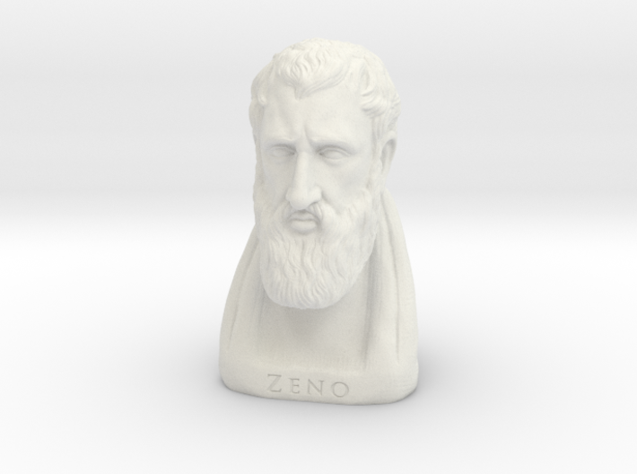 Zeno of Citium 12 inches 3d printed