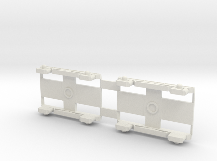 Bogies AR 45 SNCB version 1 3d printed