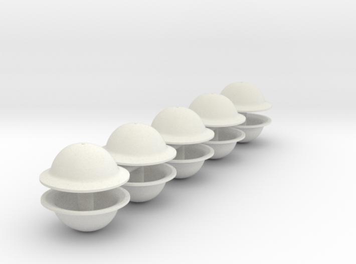 1-20 Brodie Helmet Set2 3d printed