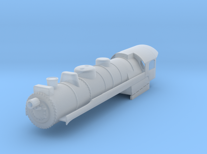 N Scale Reading G3 Steam Locomotive Shell 3d printed