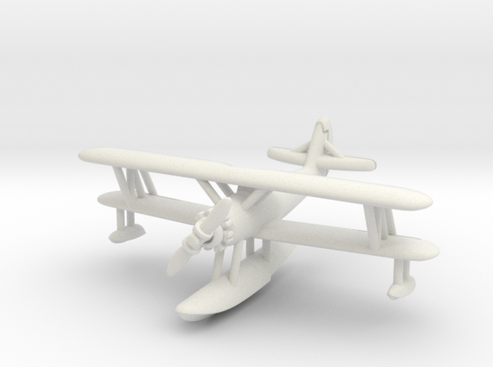 Naval Aircraft Factory N3N-3 1/285 (with floats) 3d printed