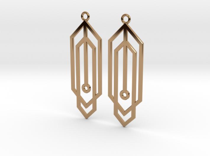 Carja Earrings 3d printed