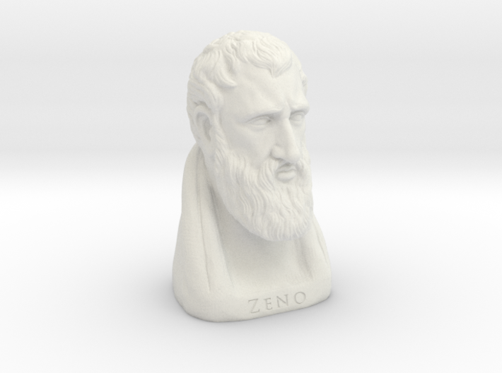 Zeno of Citium 6 inches 3d printed