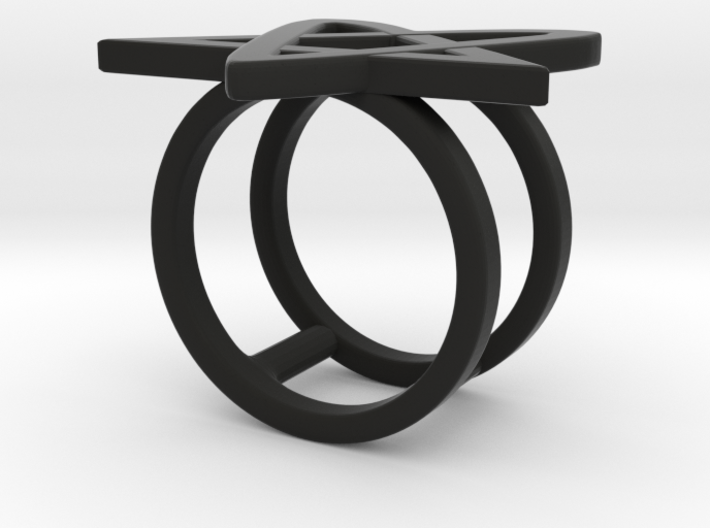 Ring of Lust 3d printed