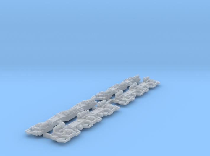 TT scale Bogies MZIII 3d printed