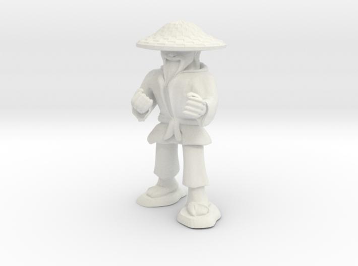 Dwarven Monk 3d printed