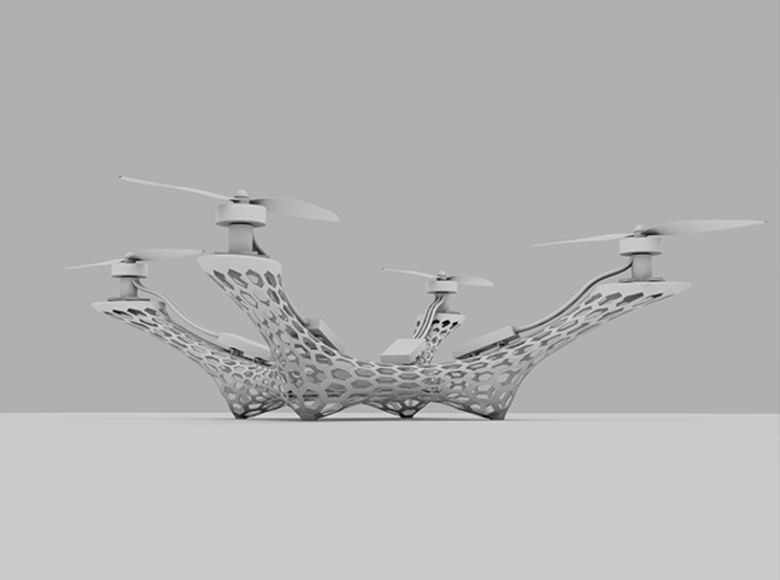 Quadcopter Frame V.2 - NEW!! 3d printed