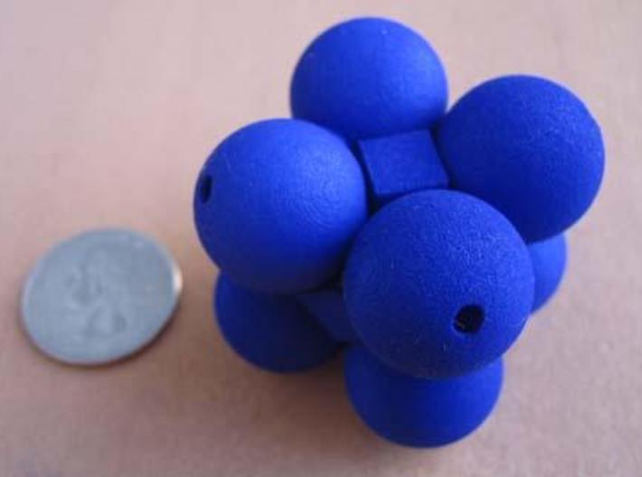 Kuball Puzzle 3d printed Another view.