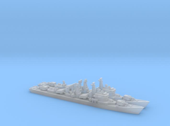 Type 051 Destroyer x 2, 1/2400, HD Version. 3d printed