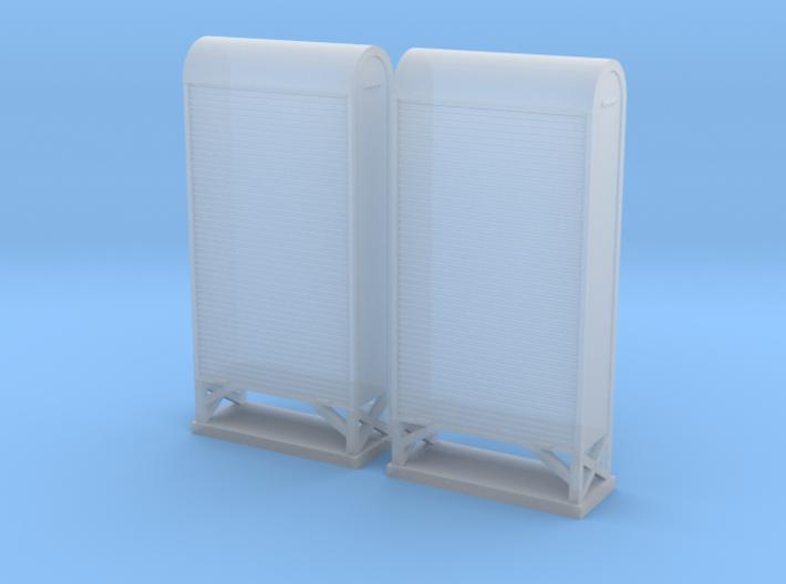 TJ-H04663x2 - Armoires a relais grand modele 3d printed