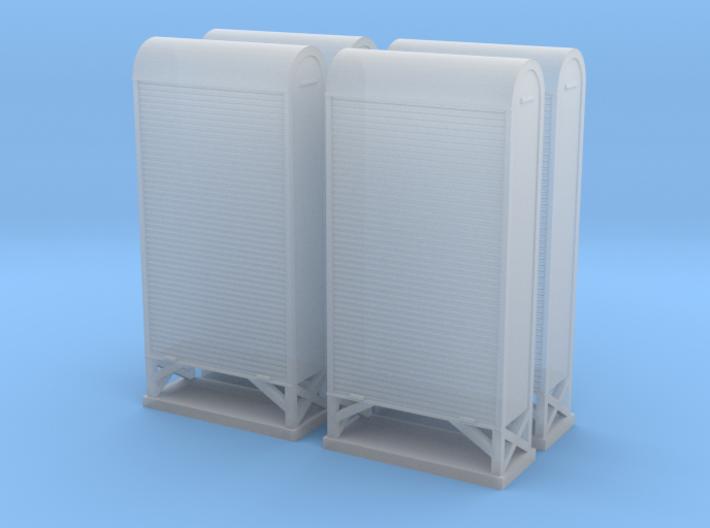 TJ-H04663x4 - Armoires a relais grand modele 3d printed