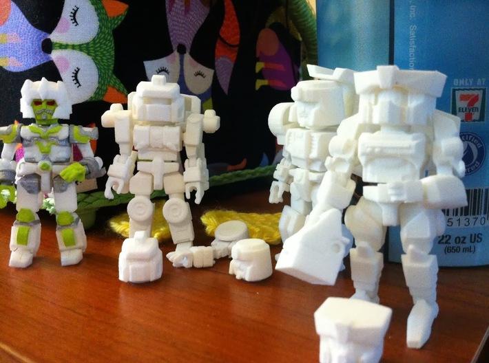 MiniBot - Explorer 3d printed