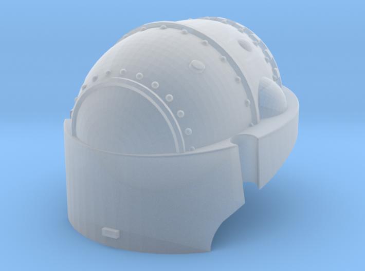 Martian Robot Castle Head for conversion 3d printed