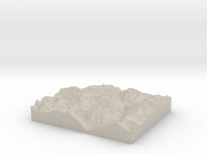 Model of Corni di Nefelgiù 3d printed